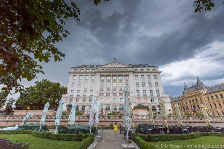Luxury Hotel Review Esplanade Zagreb World Of A Wanderer Luxury Hotel Hotel Zagreb