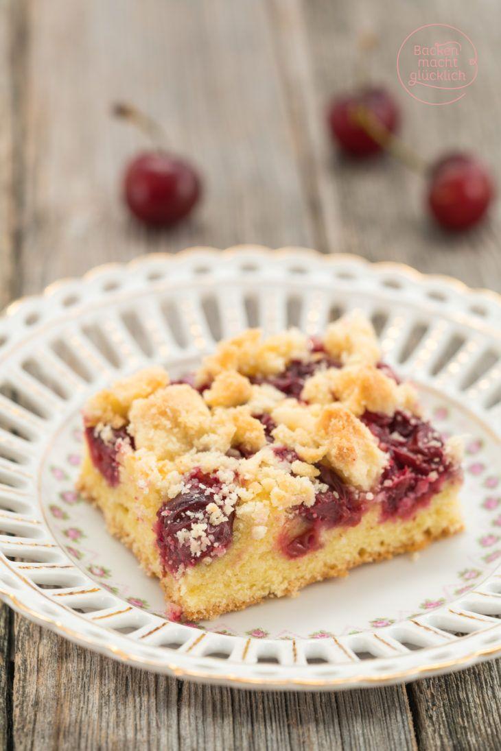 Kirschkuchen Mit Streuseln Rezept Babette Sweet Cakes