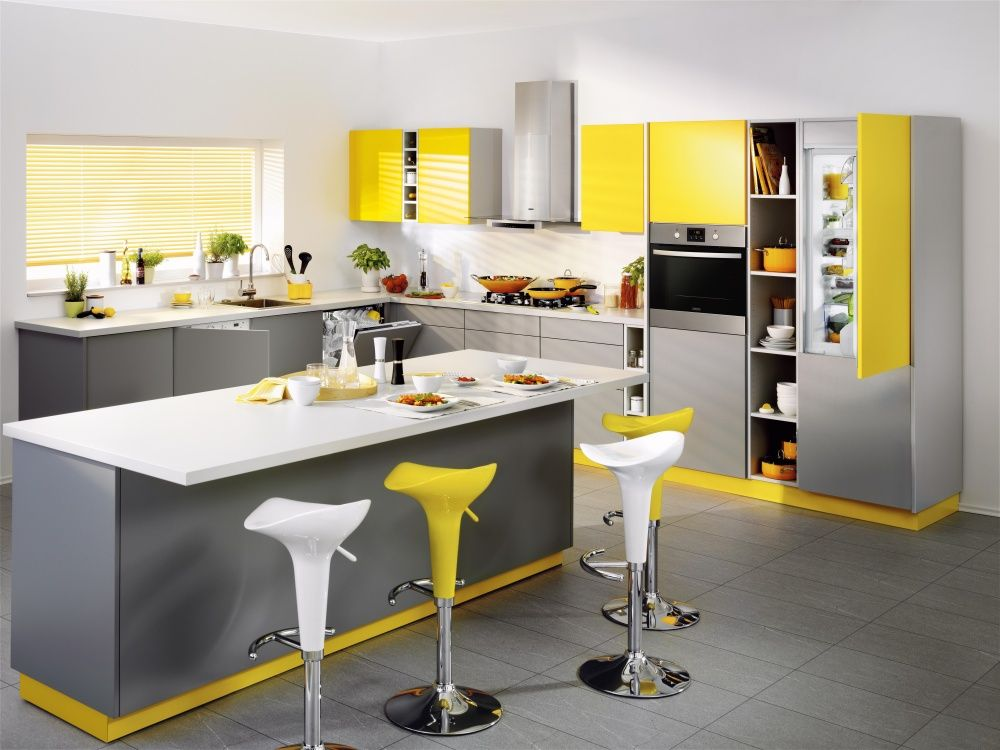 kitchen yellow grey interior kitchen cabinets color combination grey kitchen designs gray on kitchen cabinets color combination id=18834
