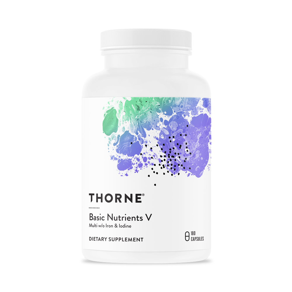 Basic Nutrients V Thorne Daily Multi Vitamin Mineral Supplement Without Iron Or Iodine Vitamins And Minerals Vitamins Multivitamin