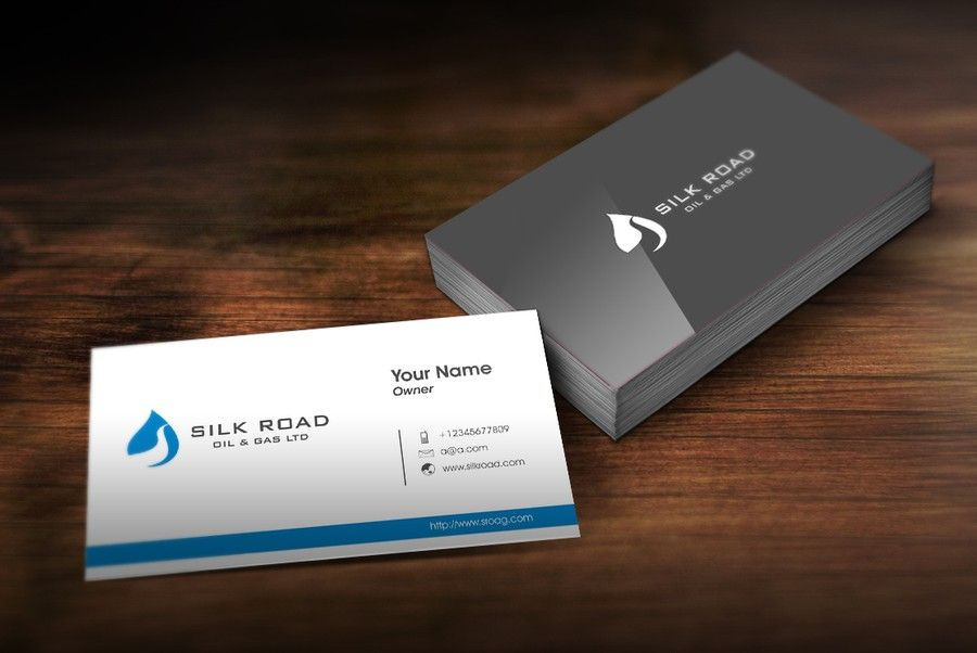 Create a new logo for Silk Road Oil | Business card design ...