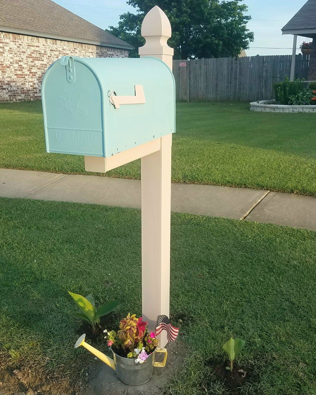 Mailbox Post House Color Mailbox Front Door Color