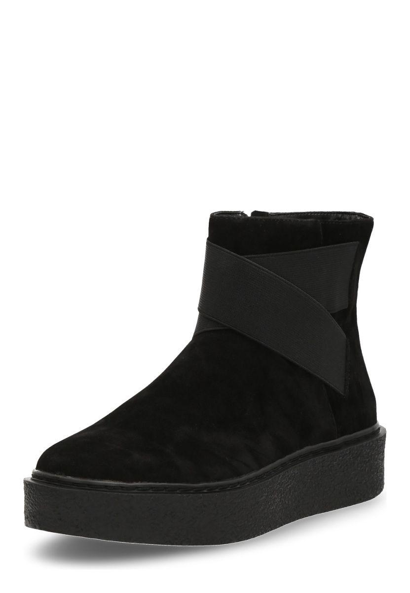 CINQUE Damen Schuhe Ankle Boot mit Plateausohle schwarz AV3PHvbpkn
