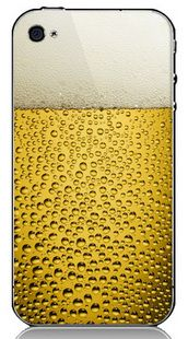 Beer + Phone. Krista, Cory needs this.. lol