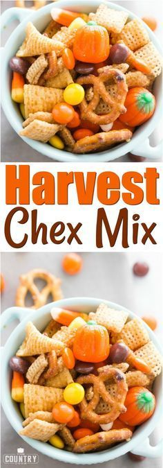 Harvest Chex Mix images