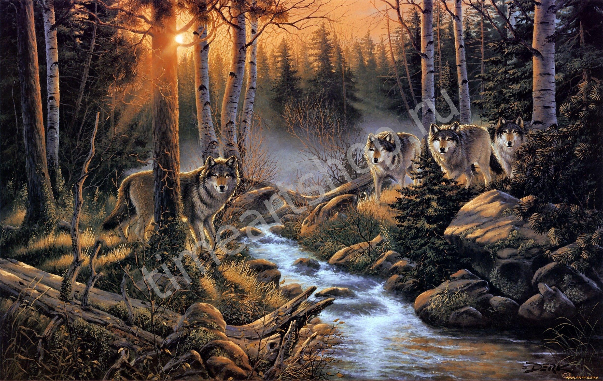Постеры с природой и животными