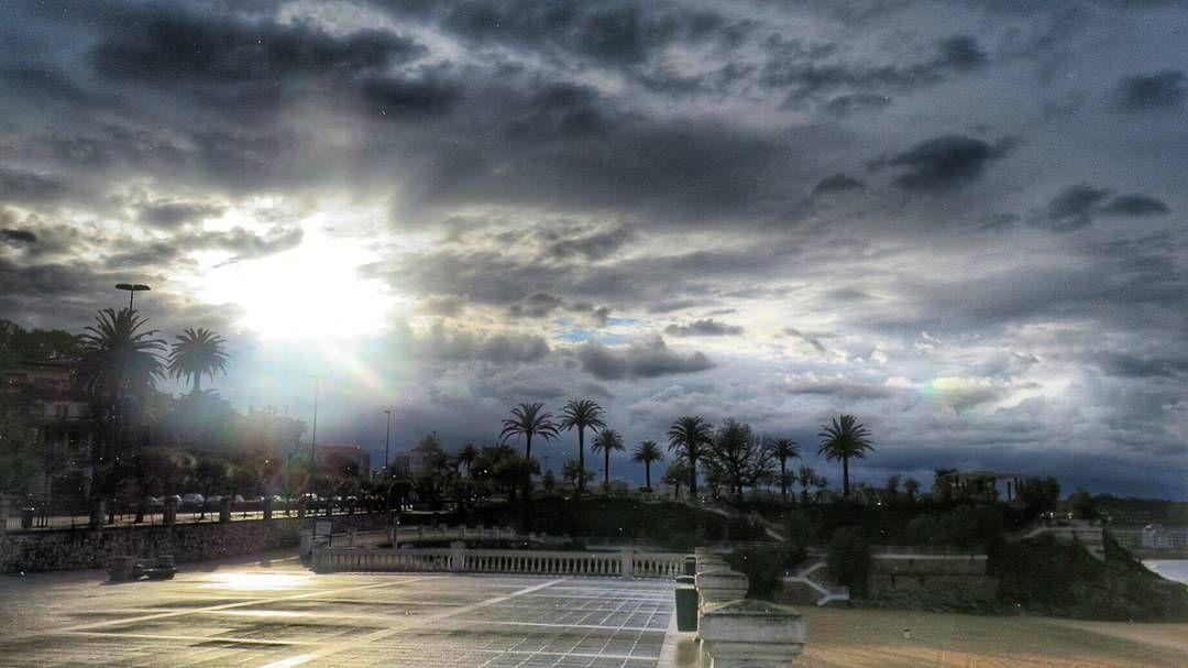 El sol antes de la tormenta