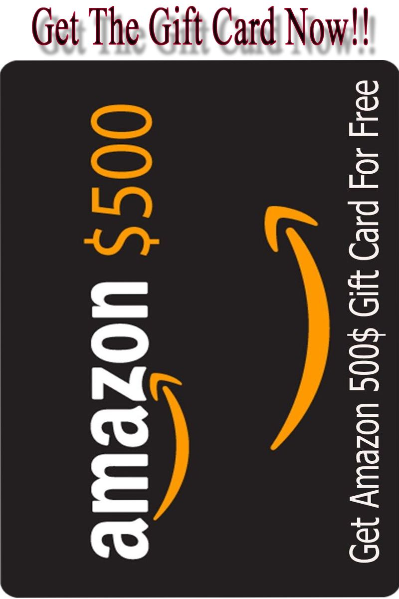 Here you are getting help to get a free amazon gift card