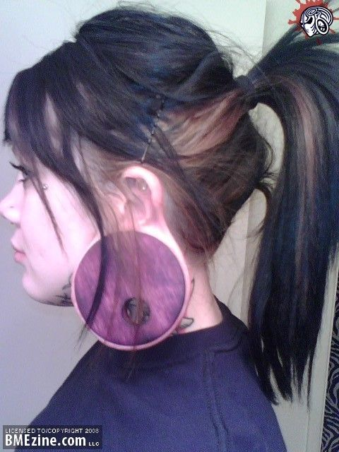 Crazy Piercings Stretched Lobes Facial Piercings Body
