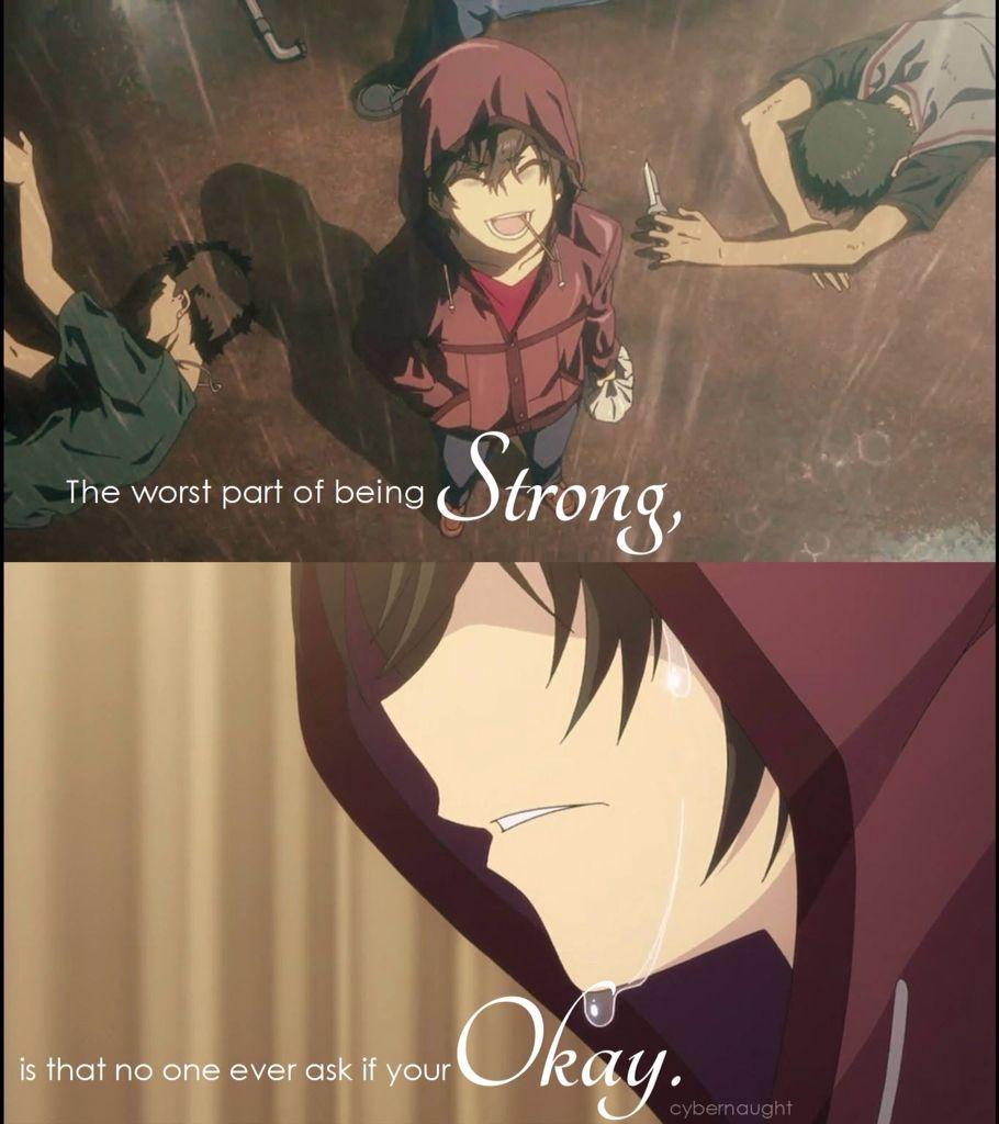 Yuu otosaka anime pinterest sad anime quotes quotes - Depressing anime pictures ...
