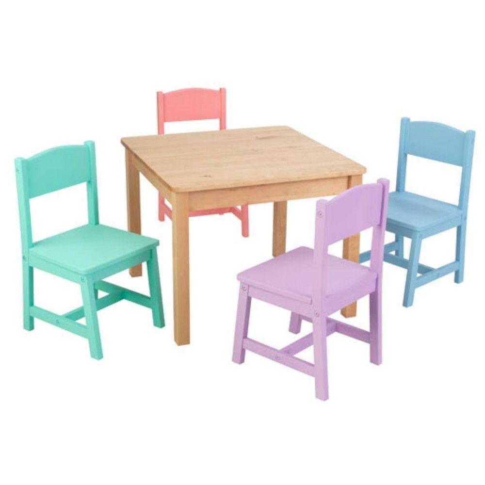 Farmhouse Table And Chair Set Seaside Kidkraft Kids Table