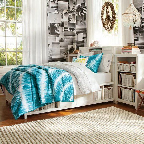 teenage girls bedroom decorating ideas with bedboard storage set basic steps about teenage. Black Bedroom Furniture Sets. Home Design Ideas