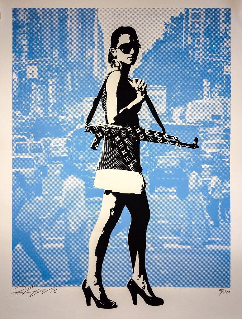 Always In Season NYC Blue by Rene Gagnon 18x24 Rene