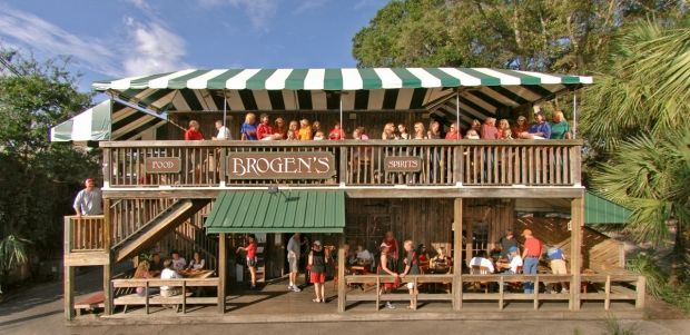 Brogens South Restaurant Pier Village St Simons Island Ga