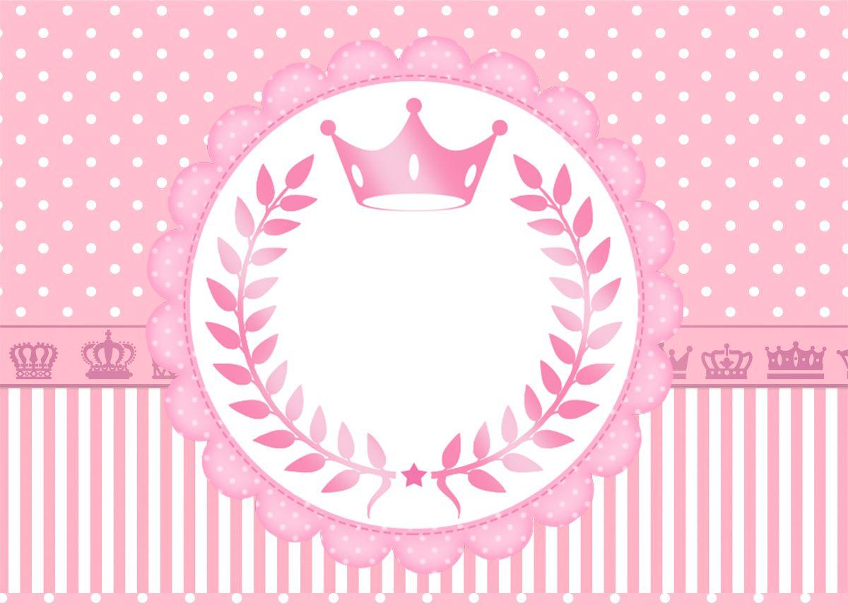 sweet 16 pink crown free printable invitations printable s