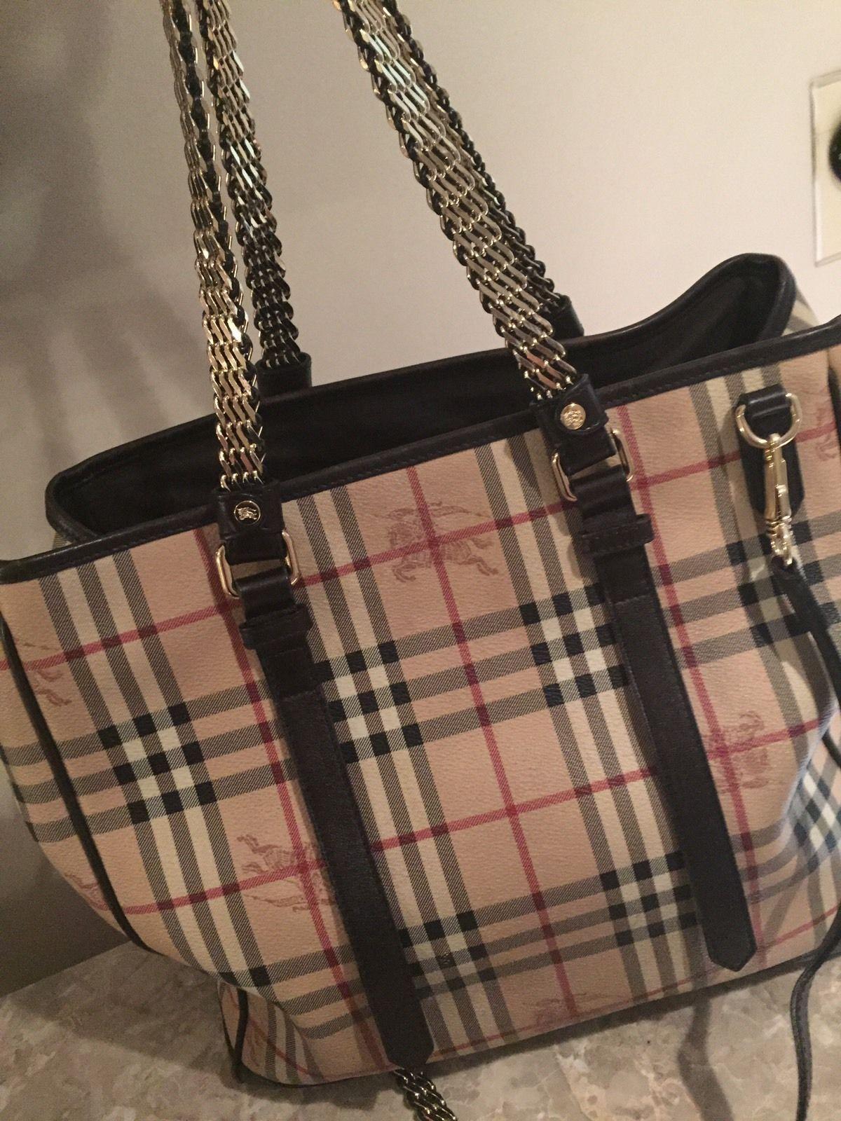Burberry handbags · Burberry Signature Haymarket Check Handbag  595.0 e0b062d952610
