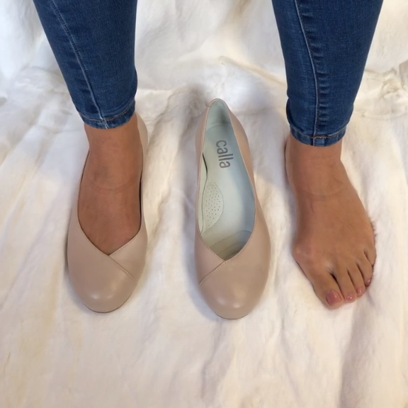 on sale 68aba a9d90 Bunion concealing and comforting flats for women with ...
