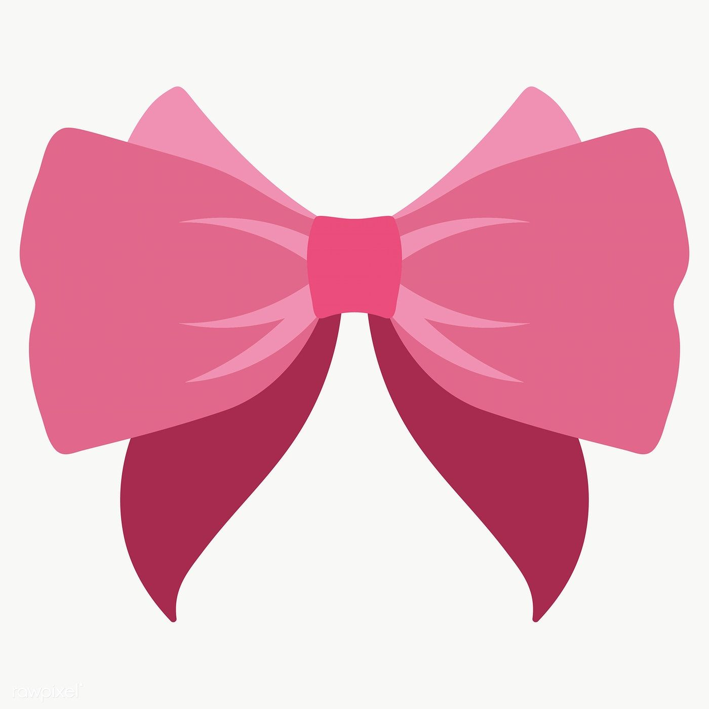 Cute Pink Bow Design Element Transparent Png Free Image By Rawpixel Com Chayanit Pink Bow Bow Design Design Element