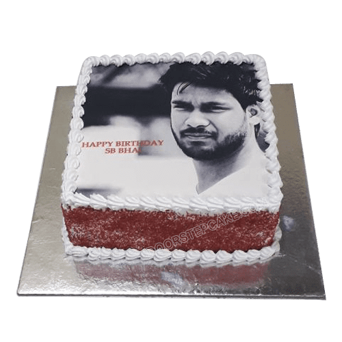Superb Photo Cake In 2020 Cake Delivery Cake Online Cake Birthday Cards Printable Opercafe Filternl