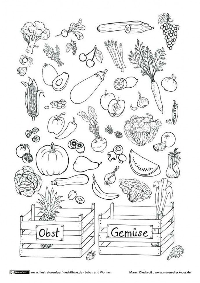 Leben und Wohnen Obst Gemüse Ratespiel Dieckvoß #obstgemüse