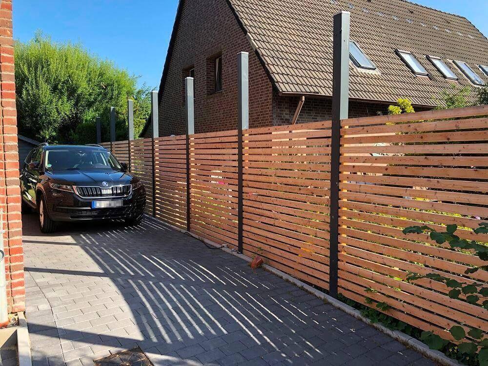 Fertigen Gartenzaun kaufen oder Zaun selber bauen (lassen)?