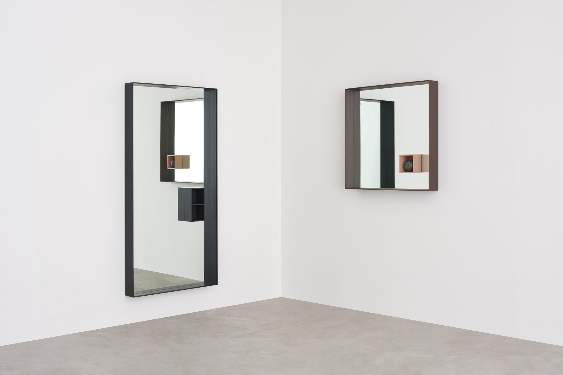 Mirror Mir by Marco Acerbis for Desalto #spiegel #slaapkamer #design ...