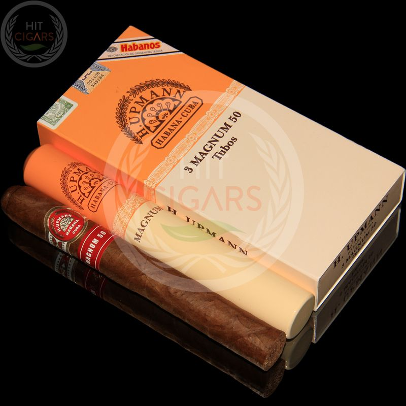 H Upmann Magnum 50 Tubos Pack Of 3 Cigars Cuban Cigars Cigars Cigar Art