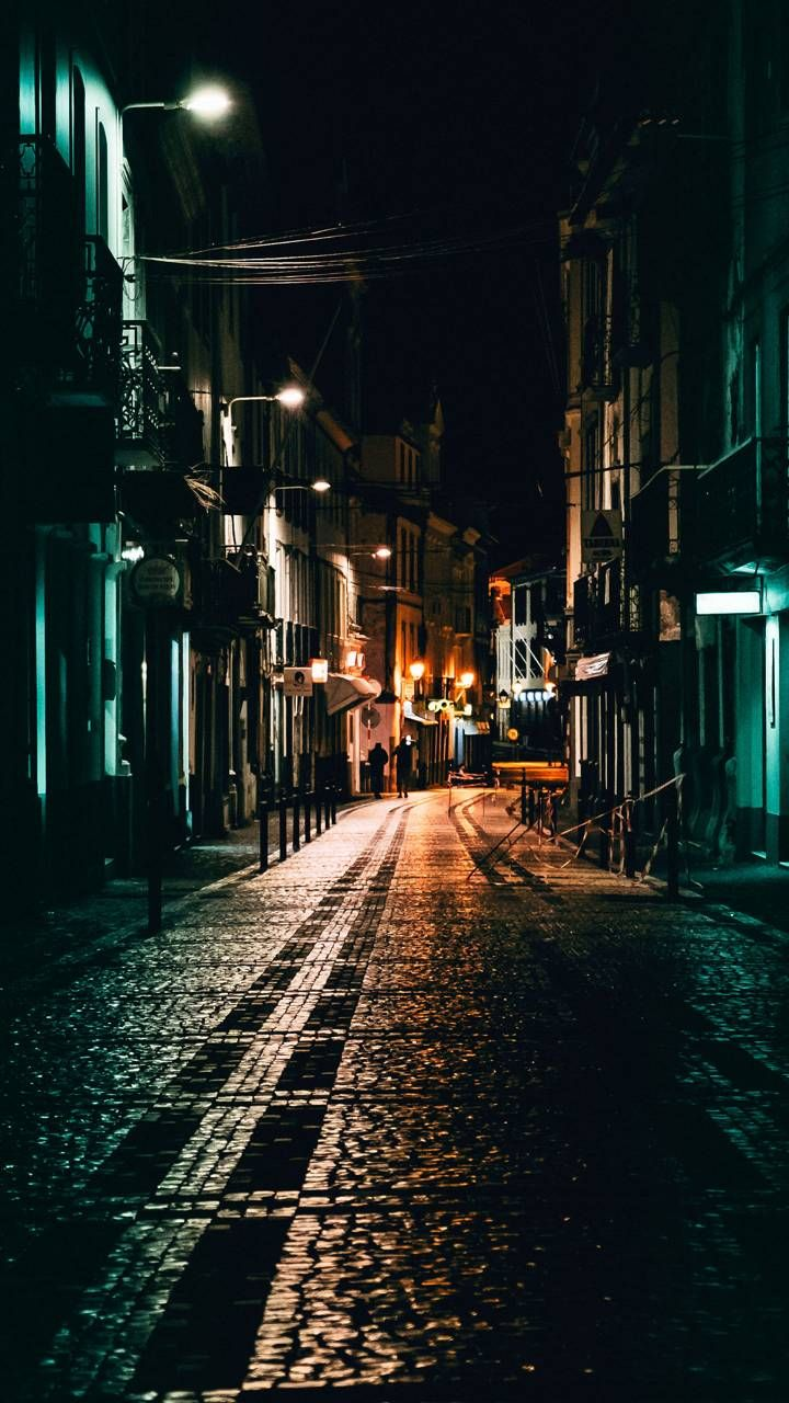 Download Street At Night Wallpaper By Misia_bela
