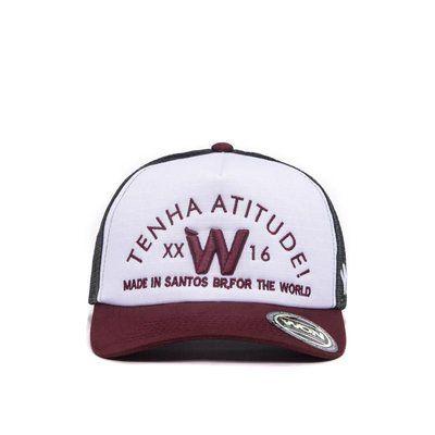 Boné Atitude WON - Aba Curva  67190632bff