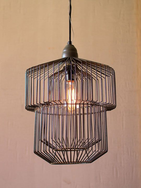 Black Wire Pendant Light With Images