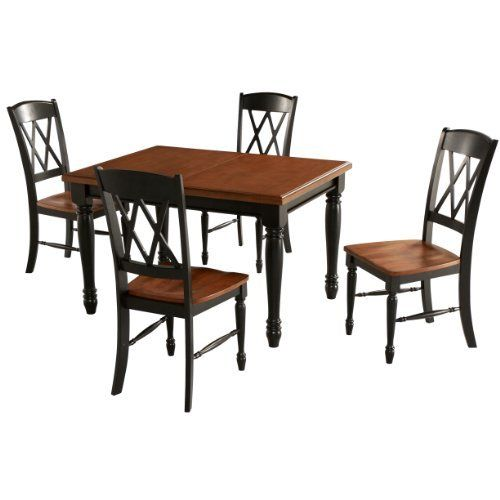 Home Styles 5008 308 Monarch Rectangular Dining Table And 4 Double