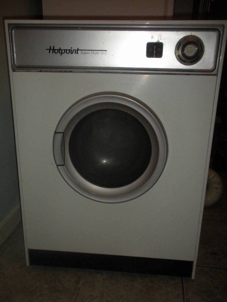 Very Old Hotpoint Super Dryer 17450 White Tumble Dryer
