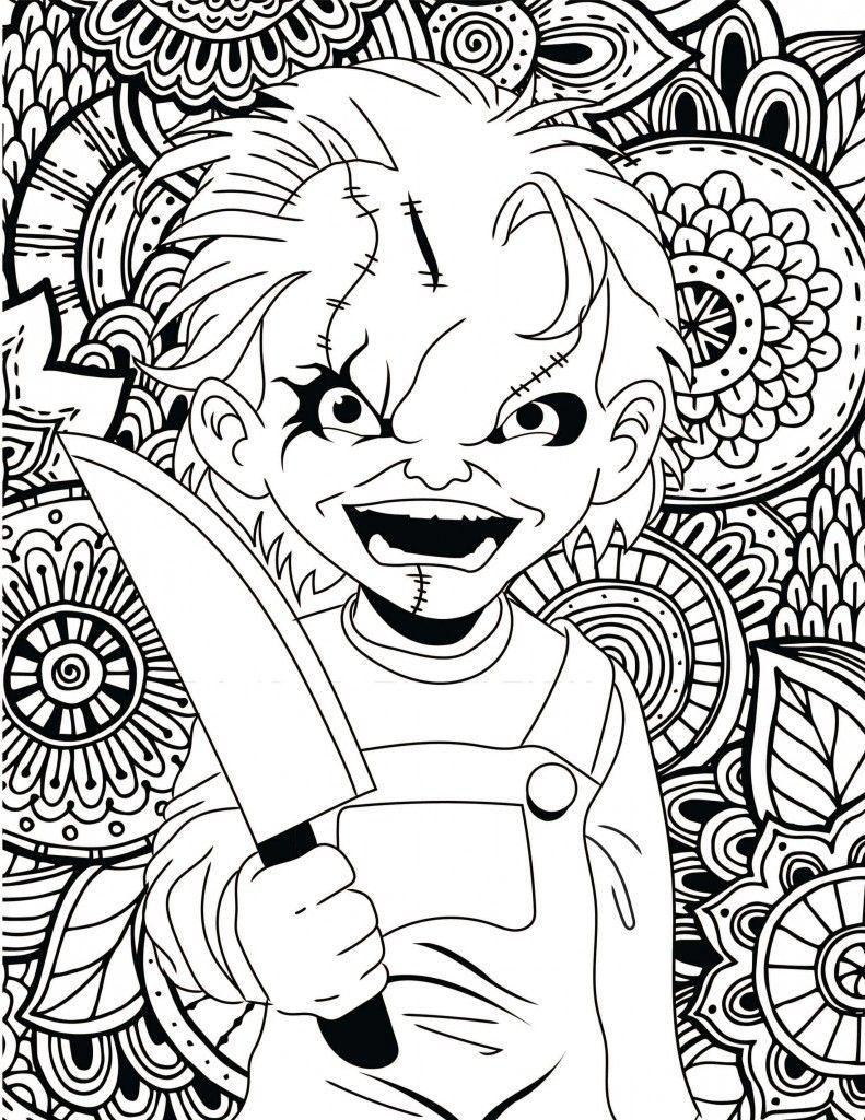 8 Free Printable Scary Halloween Coloring Pages Halloween Coloring Pages Printable Halloween Coloring Halloween Coloring Pages