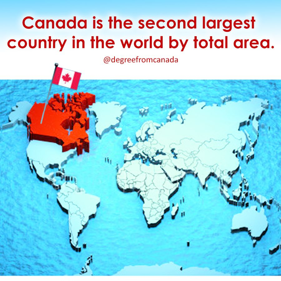 InterestingFact Canada Is A Country In The Northern Part Of North - What is the biggest country in the world