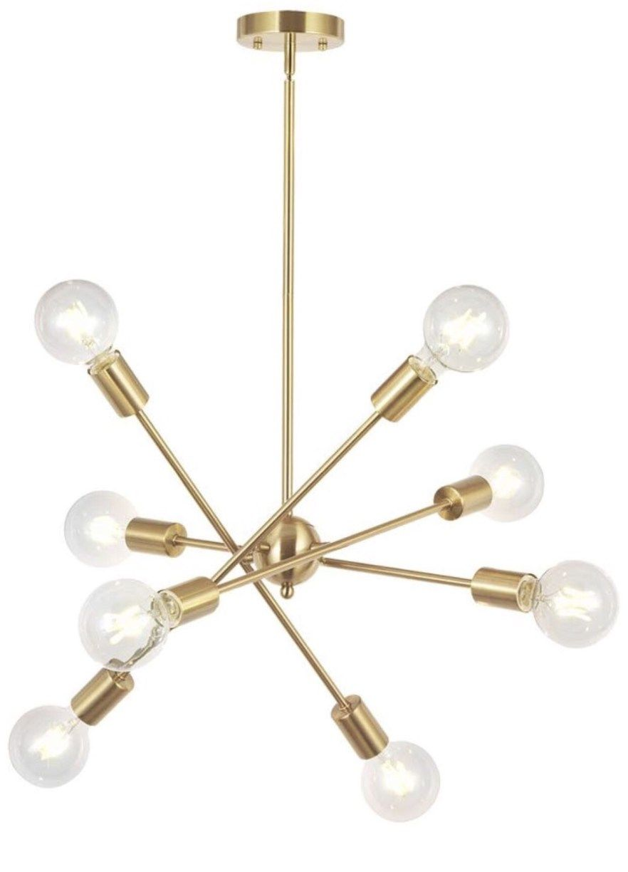 Mid Century Modern Chandeliers Affordable Lighting Faves
