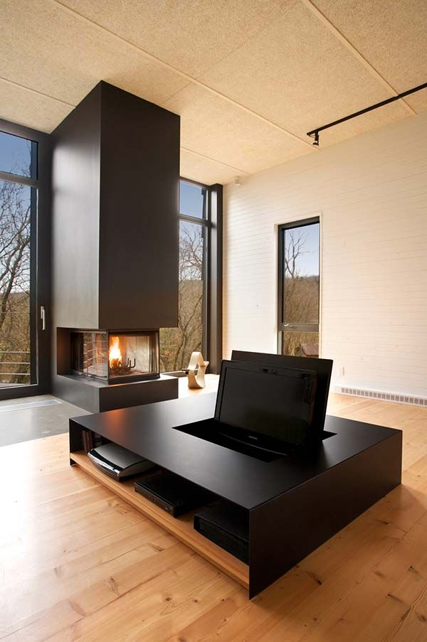 10 Best Hybrid Furniture Pieces To Add To Your Home Minimalist Living Room Design Fireplace Design Minimalist Living Room
