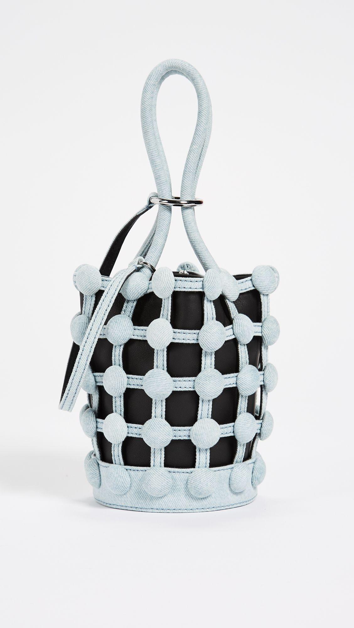 77af042948c6 Alexander Wang Roxy Cage Mini Bucket Bag