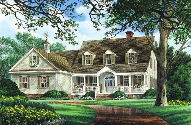 William E Poole Modular Brookhaven Country House Plans House Design House Plans Online