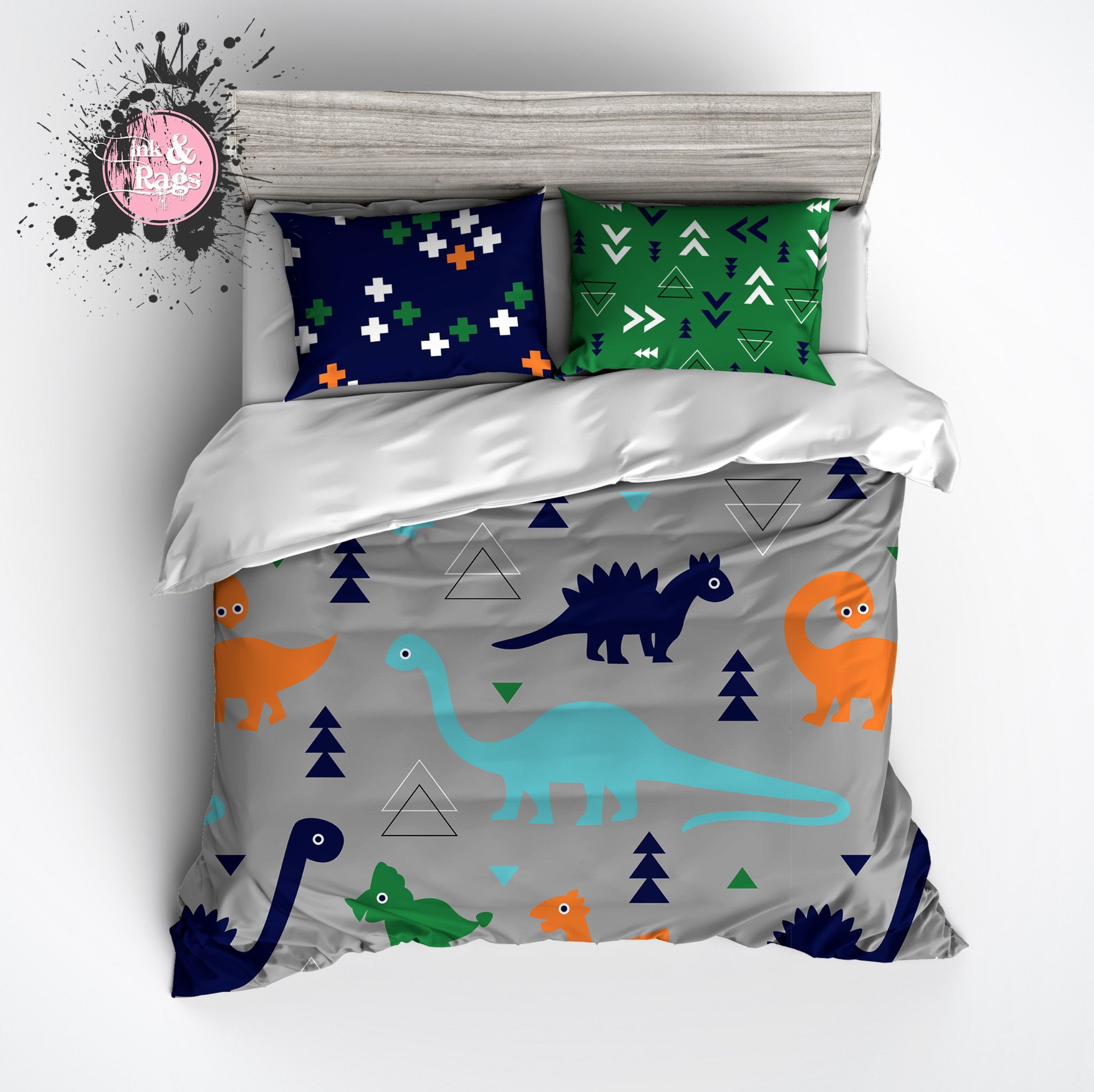 Pcs peter pan bedding set duvet cover fitted sheet pillow case worl - Bedding