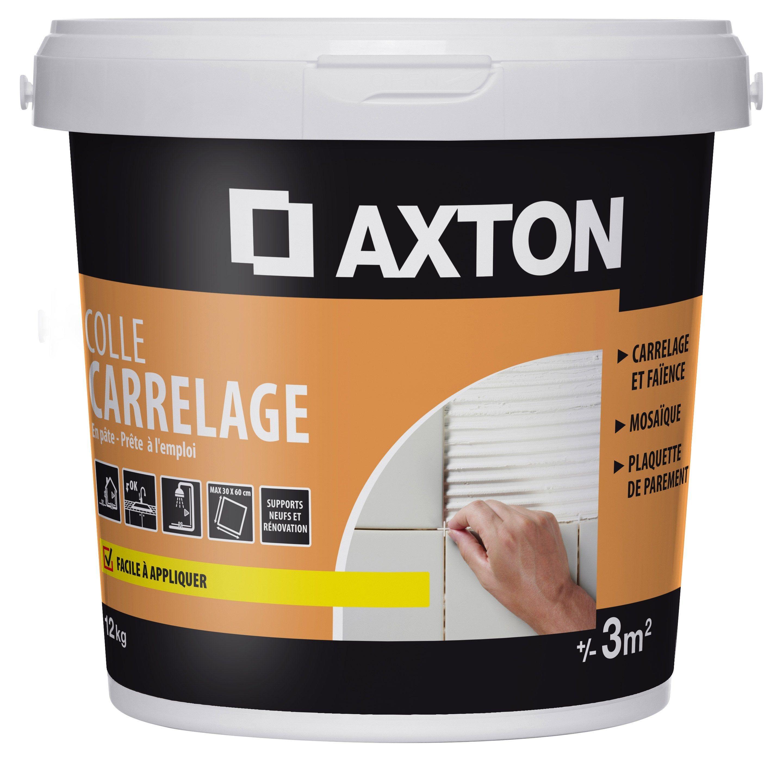 Colle En Pâte Blanc 12 Kg 3m² Axton Products En 2019
