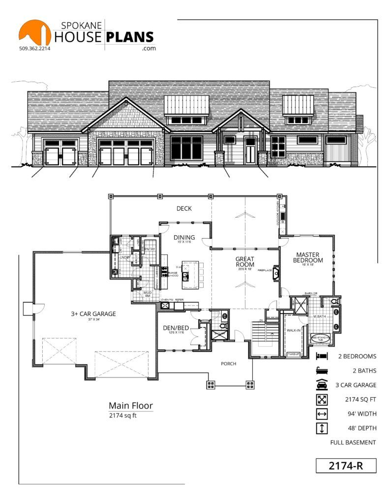 2174 R House Plans House Layout Plans How To Plan