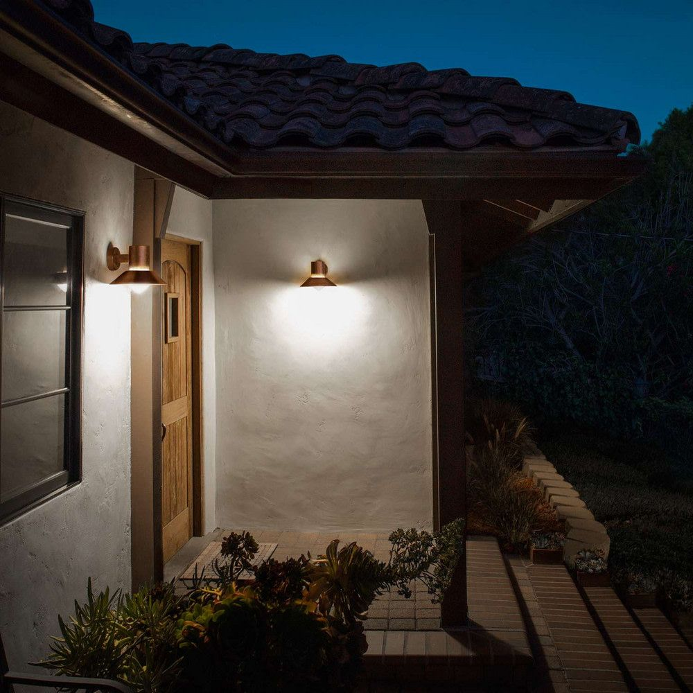 The Best Outdoor Lighting For A Stylish Space Domino Contemporary Outdoor Wall Lights Porch Lighting Led Outdoor Wall Lights
