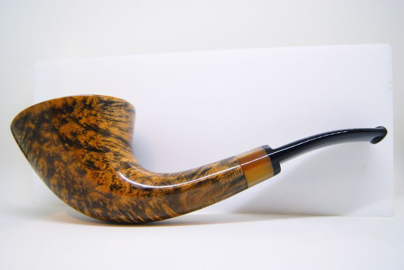 Pipe Caminetto, by Tommi Ascorti - Freehand bent