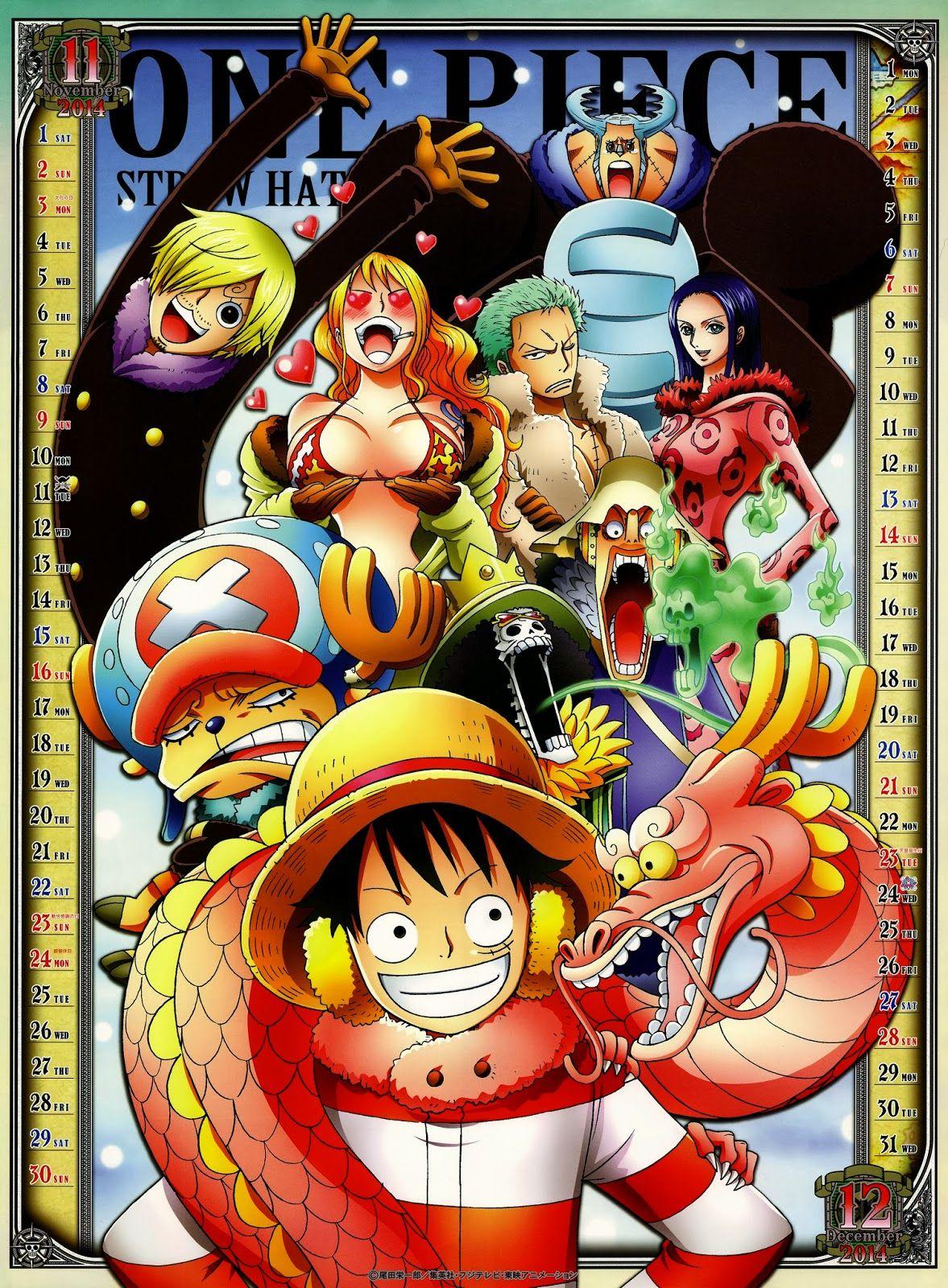 One Piece November/December 2014 One piece anime