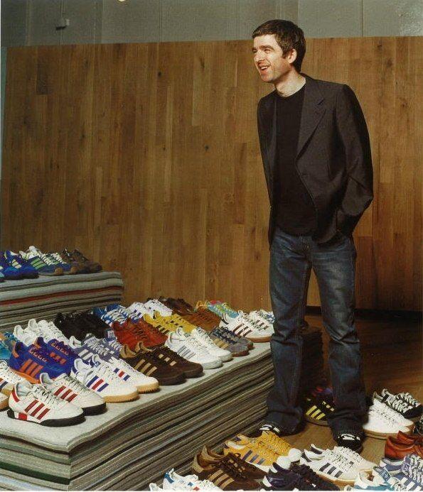 Noel gallagher, Noel, Adidas retro