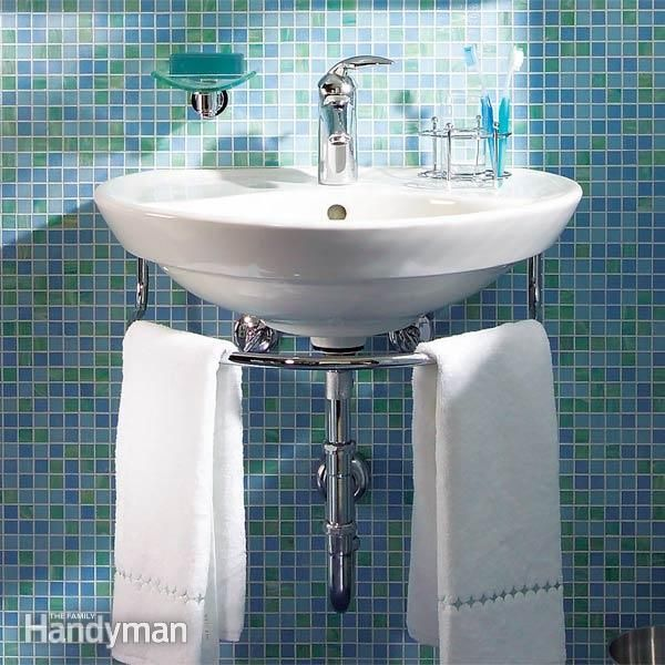 Attirant Installing A Bathroom Sink: Wall Hung Sink