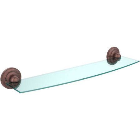 Prestige Que New Collection 24 inch Glass Shelf (Build to Order)