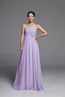 Chiffon Lavender Bridesmaid Dresses