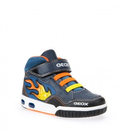 GEOX - Baskets Jr Gregg bleues