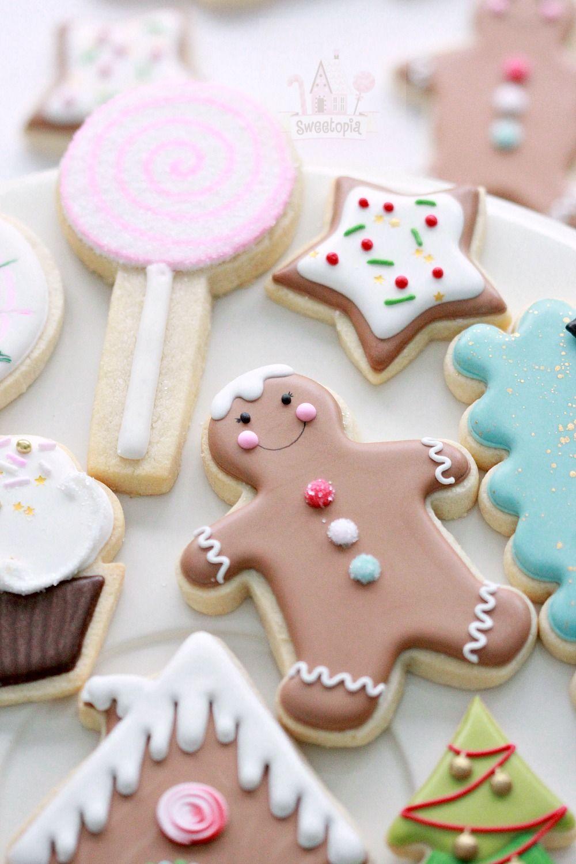 Royal Icing Cookie Decorating Tips Christmas sugar